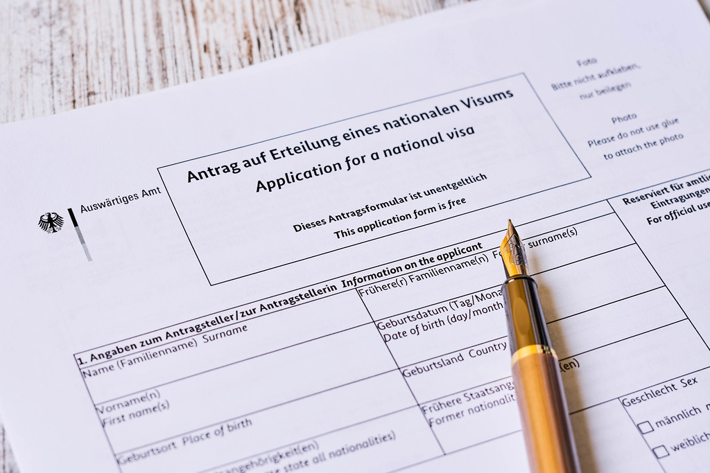 Application for German national visa