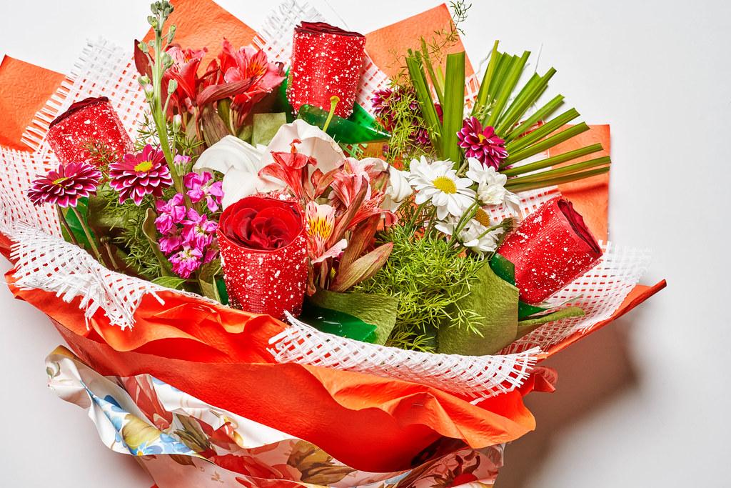 Beautiful flowers bouquet