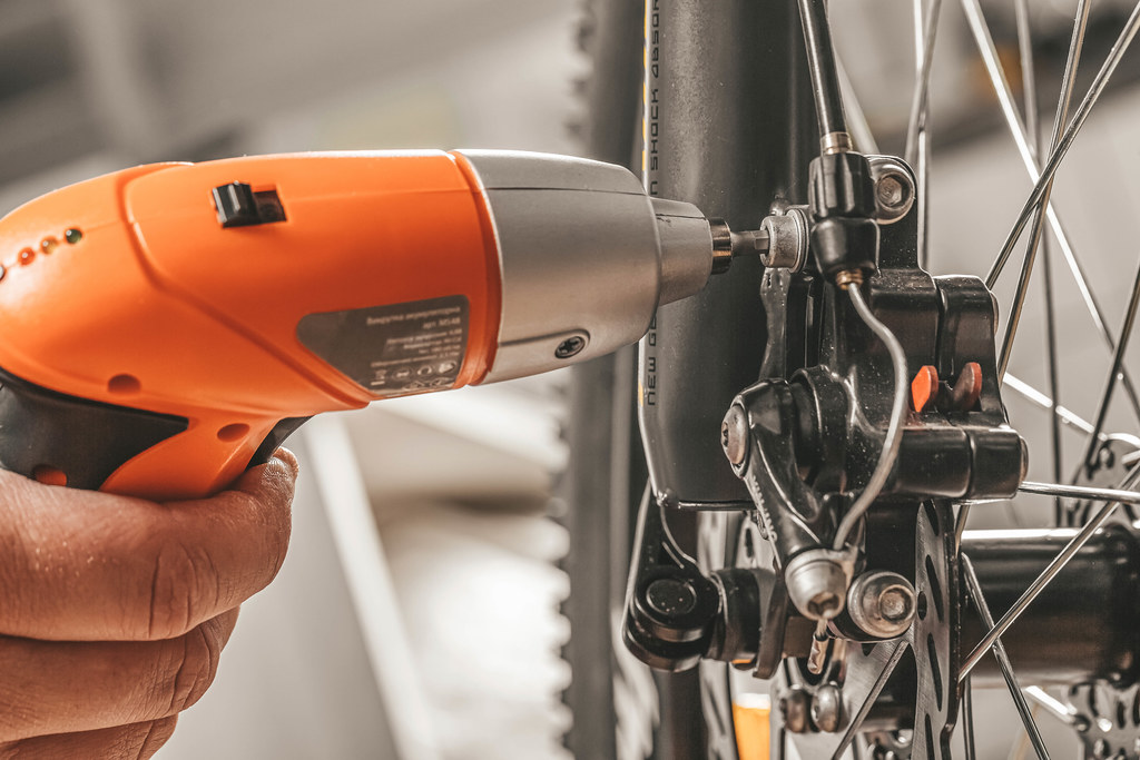 Bicycle maintenance- fixing the brakes on a bike