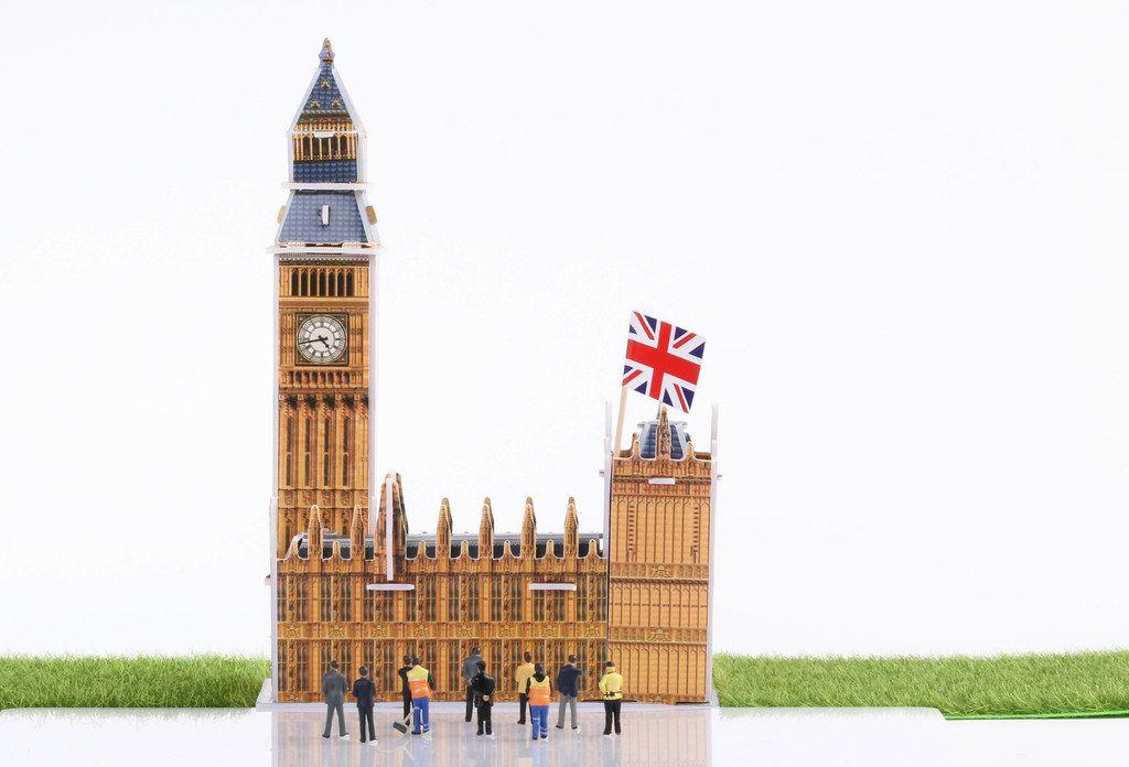 Big Ben model building