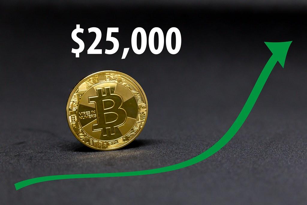 Bitcoin climbs to $25,000 during Christmas 2020