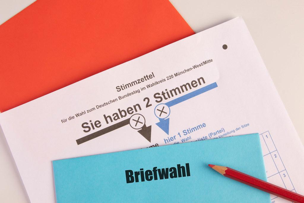 Briefwahl und Wahlschein