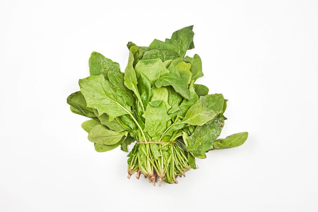 Bunch of arugula leafy green