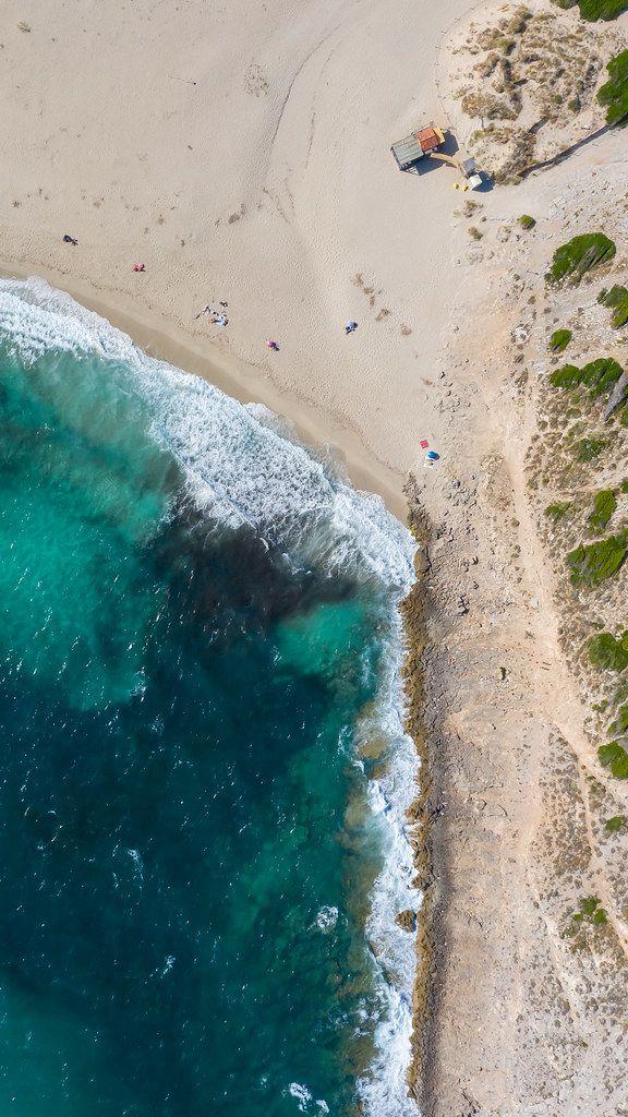 Cala Torta bei Artà an der nordöstlichen Küste Mallorcas, Spanien. Dronenaufnahme