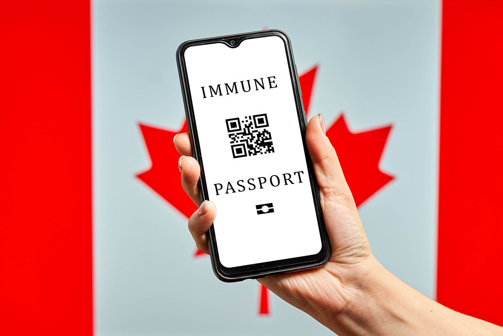 Canada requiring Digital Immune passports from visitors