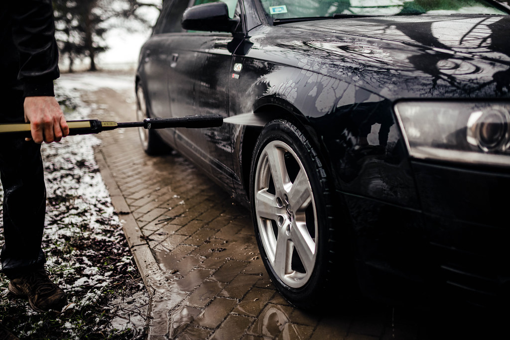 Car Cleaning Karcher High Pressure