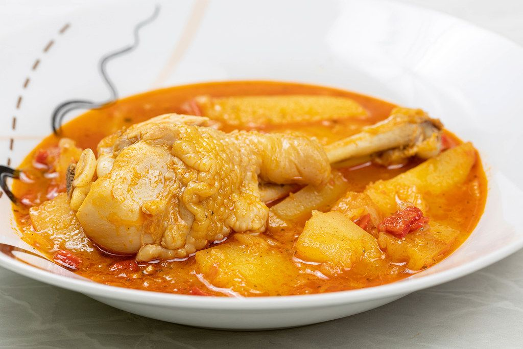Chicken Meat stew with Potatoes