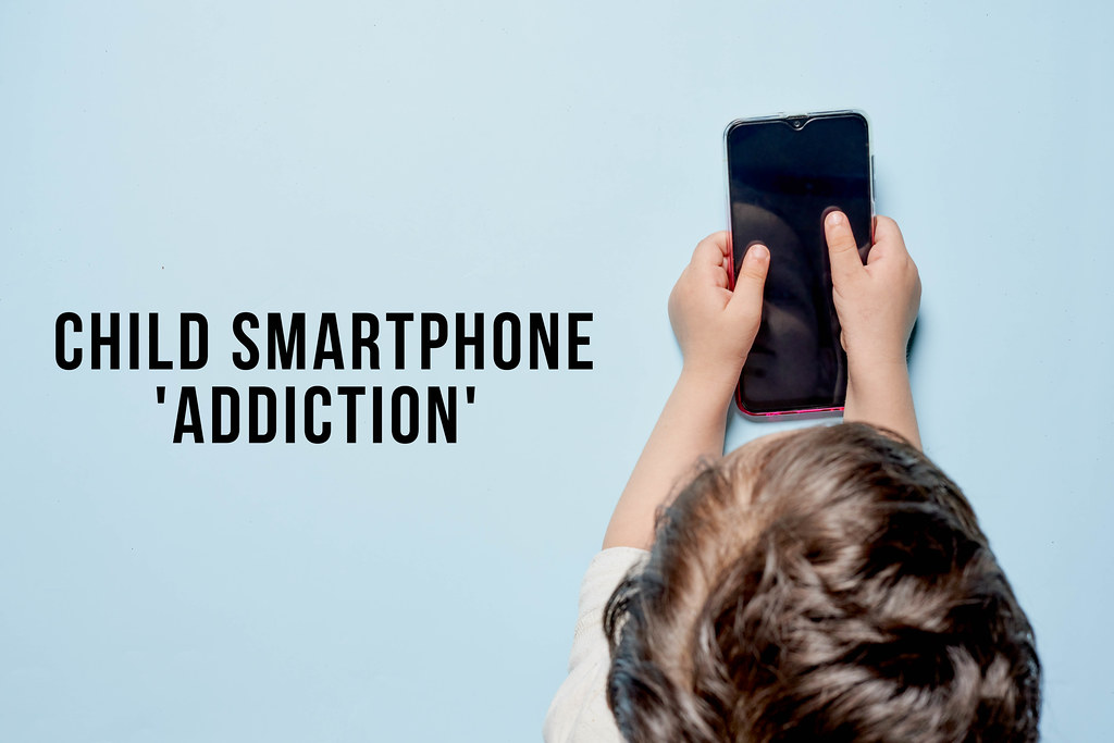 Child smartphone addiction