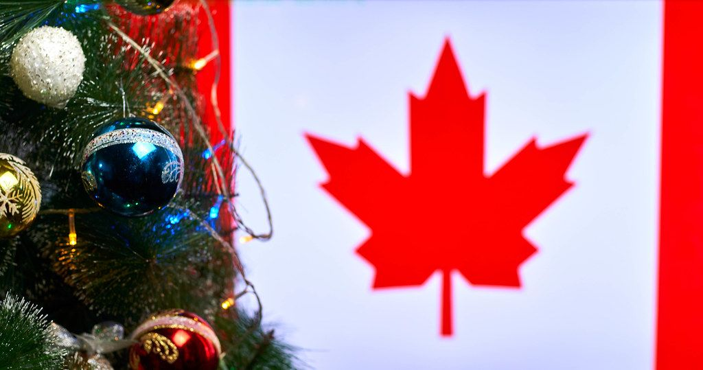 Christmas holidays in Canada
