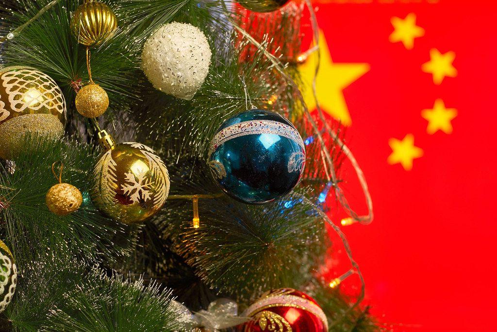 Christmas holidays in China