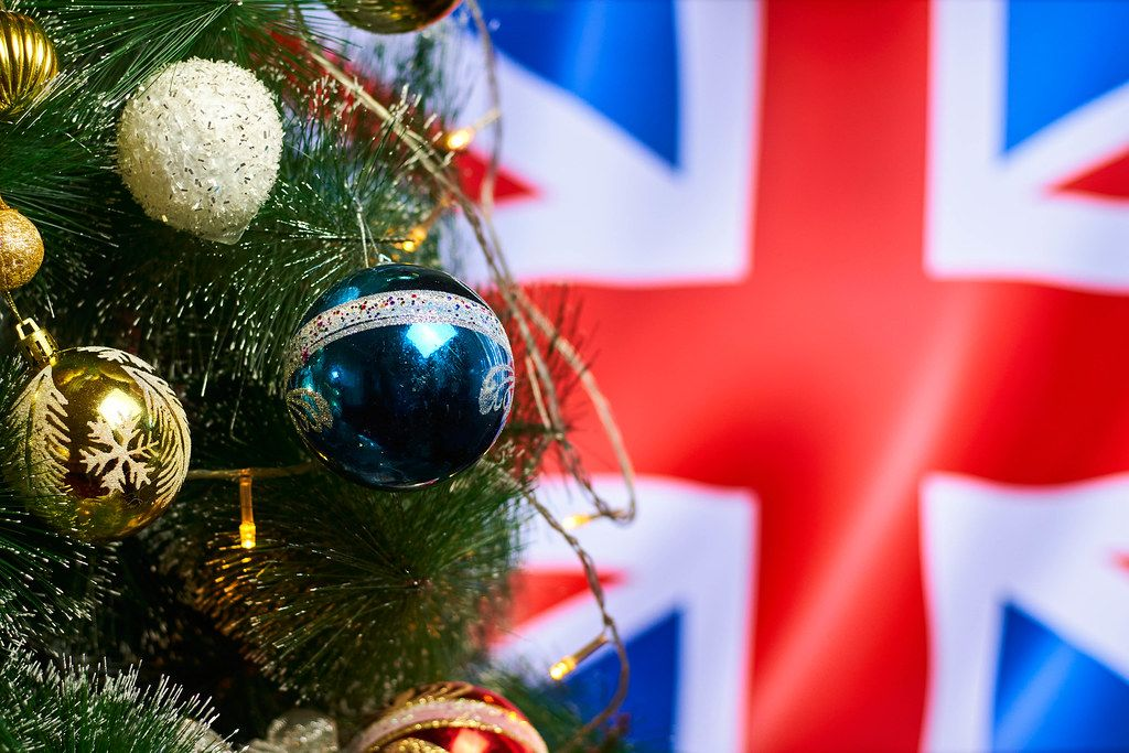 Christmas holidays in Great Britain