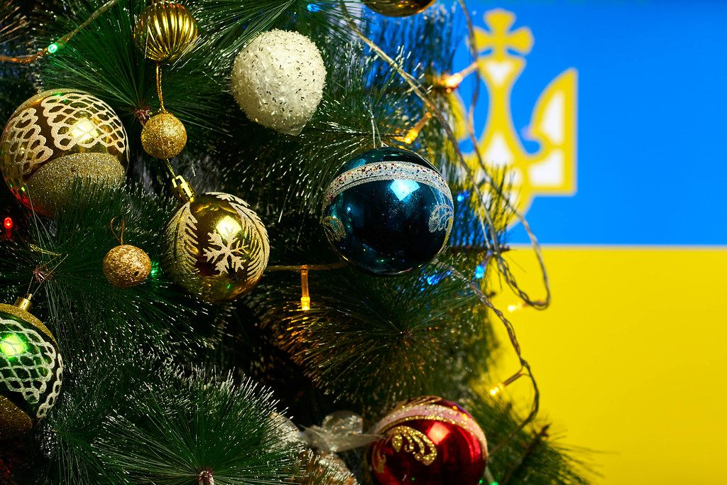 Christmas holidays in Ukraine