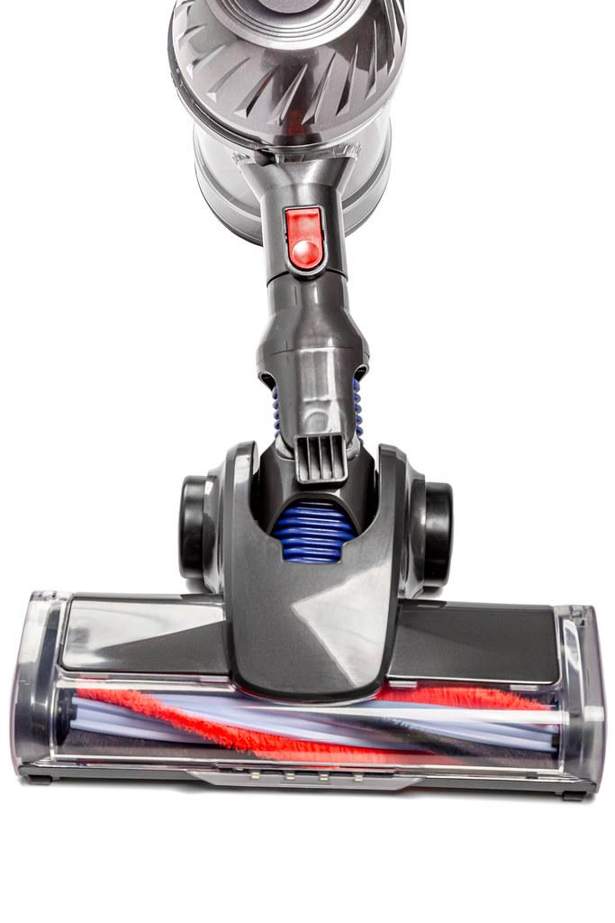 Close-up, brush of a vacuum cleaner