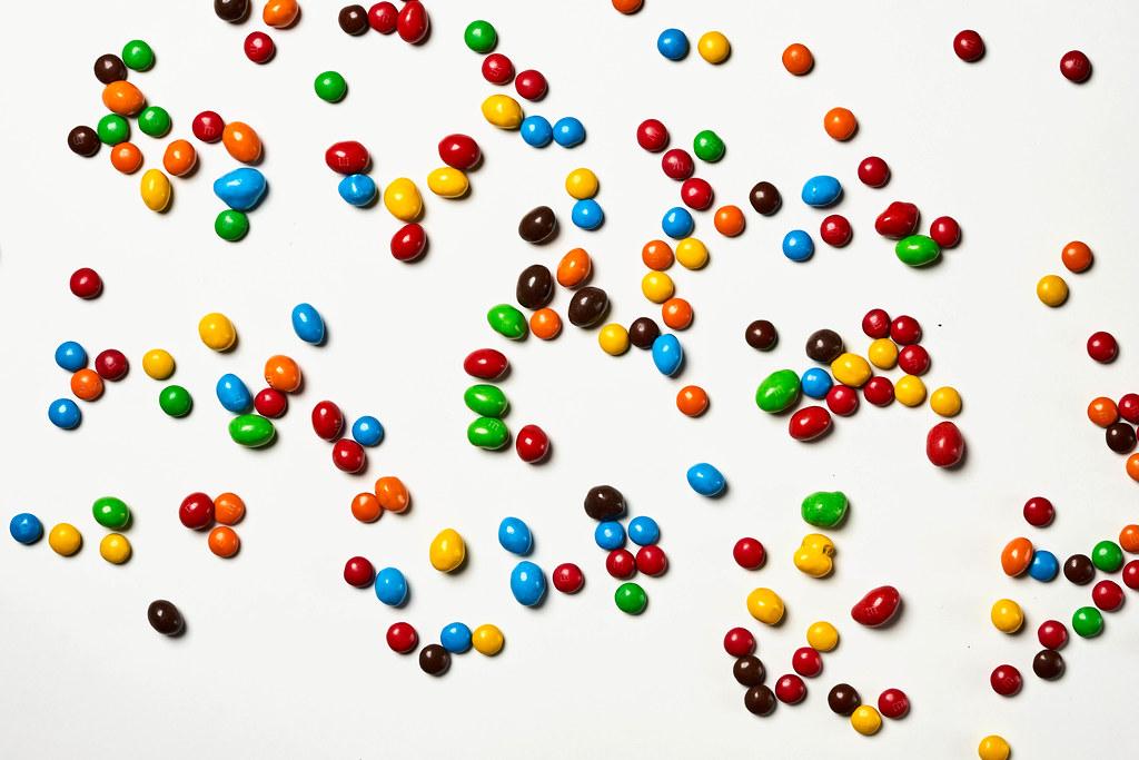 Colorful M&M