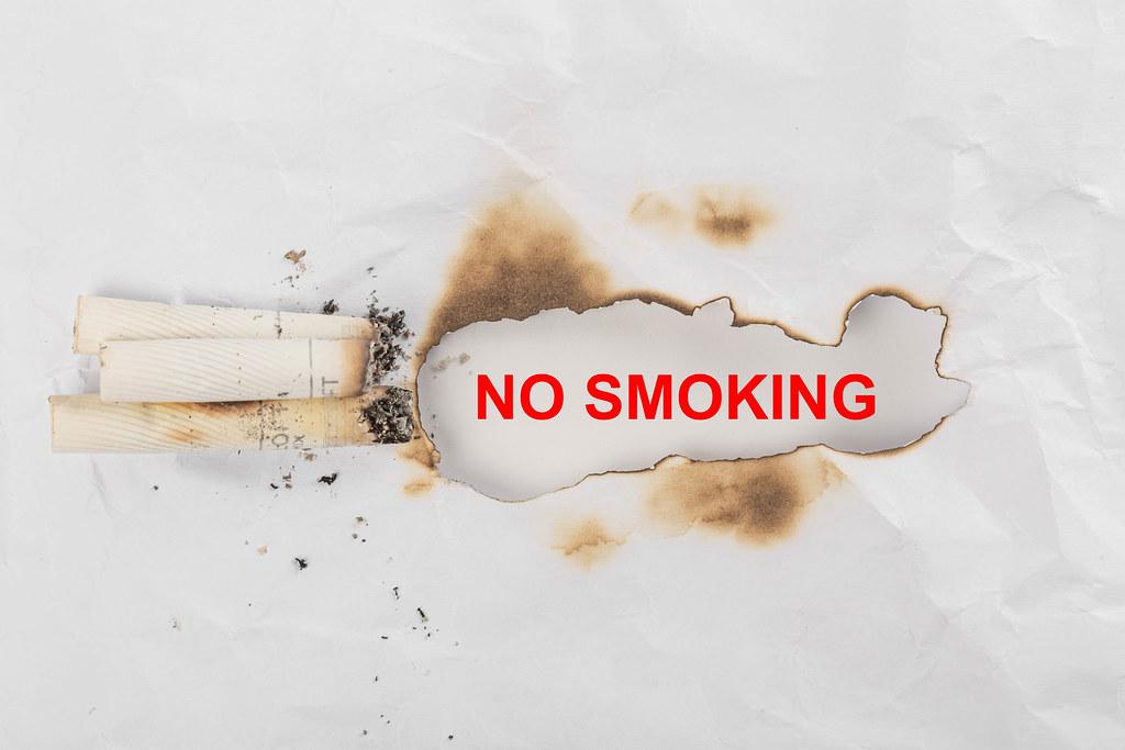 Conceptual background no smoking