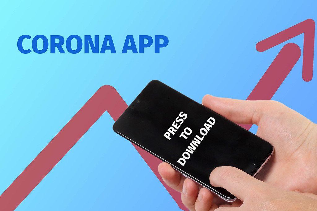 Corona App installation concept
