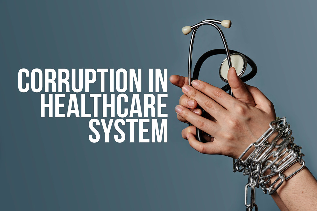 Corruption in the healthcare system