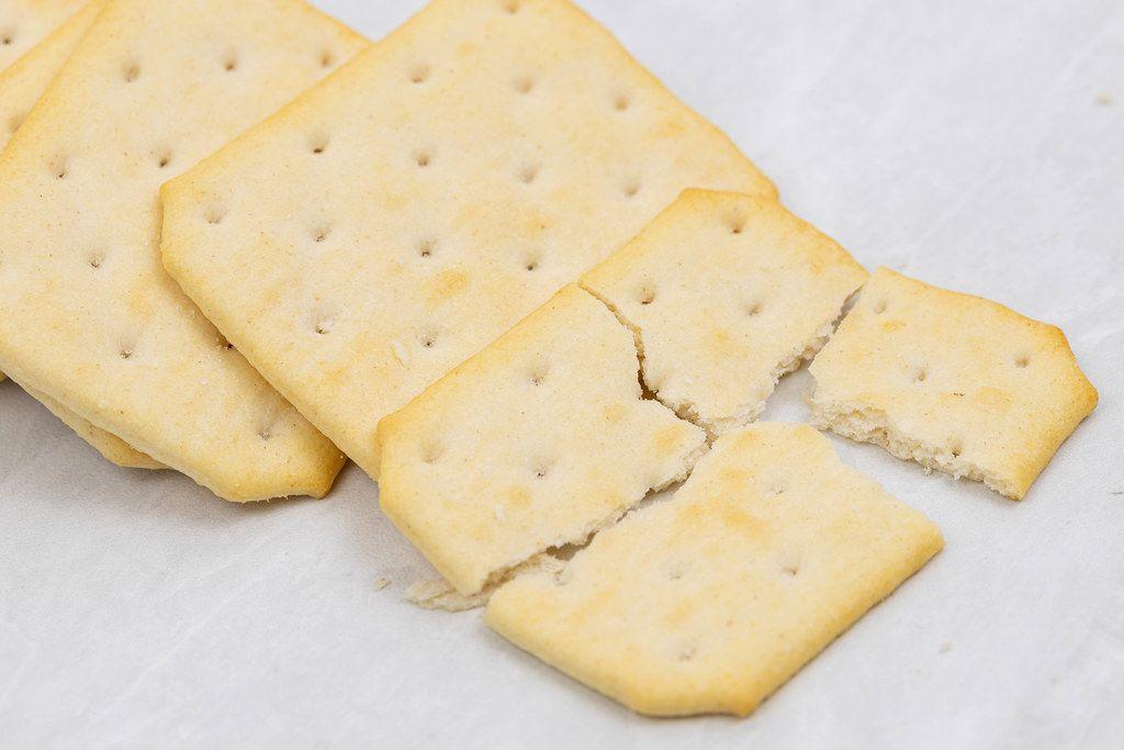 Crunchy Biscuit macro closeup image