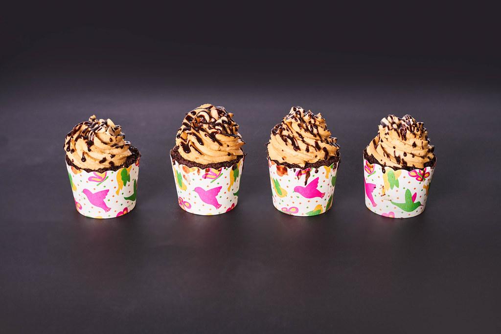 Delicious homemade butterscotch cupcakes
