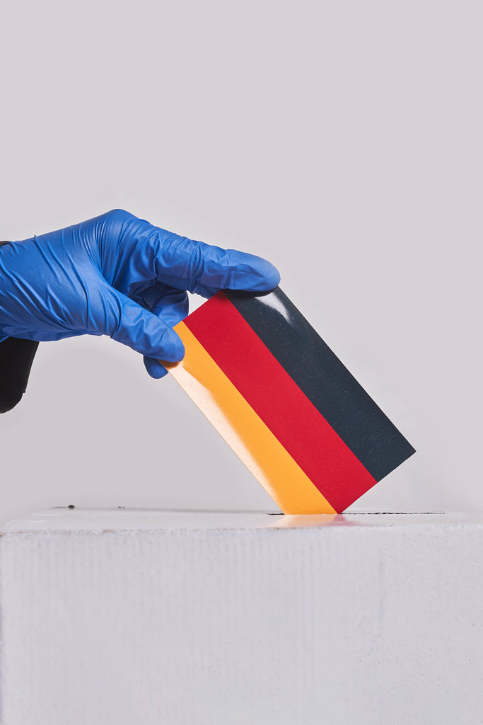 Democracy freedom concept. Elections in Germany