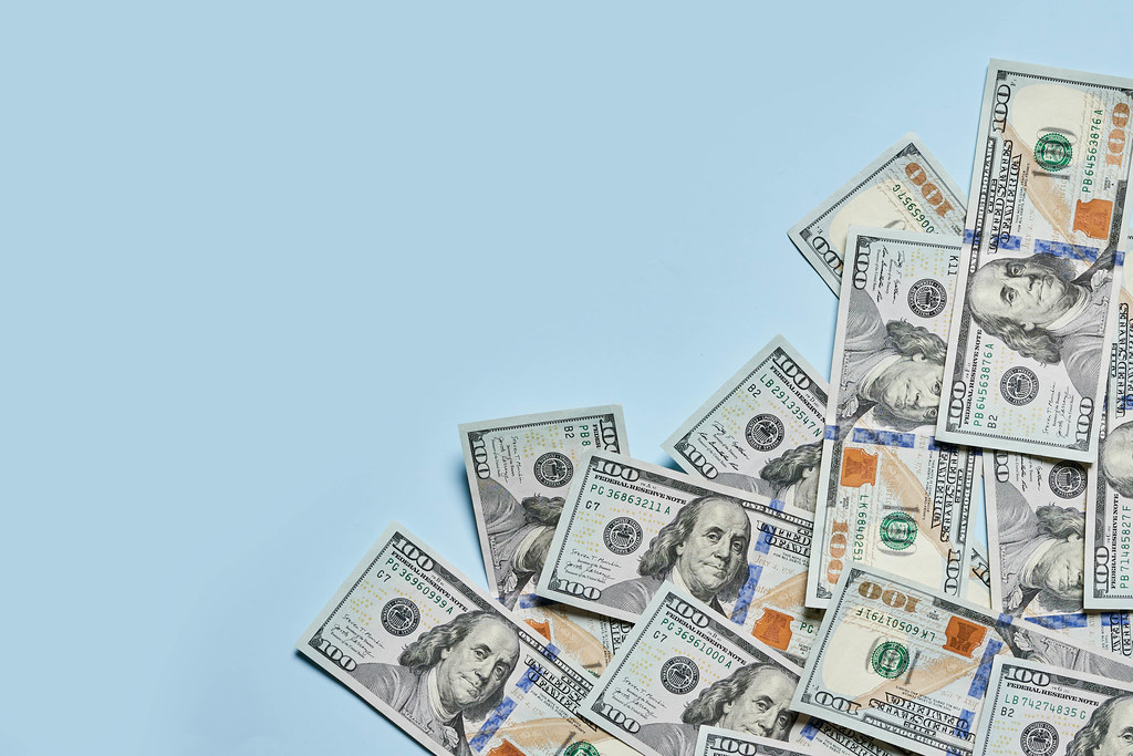 Financial or money background