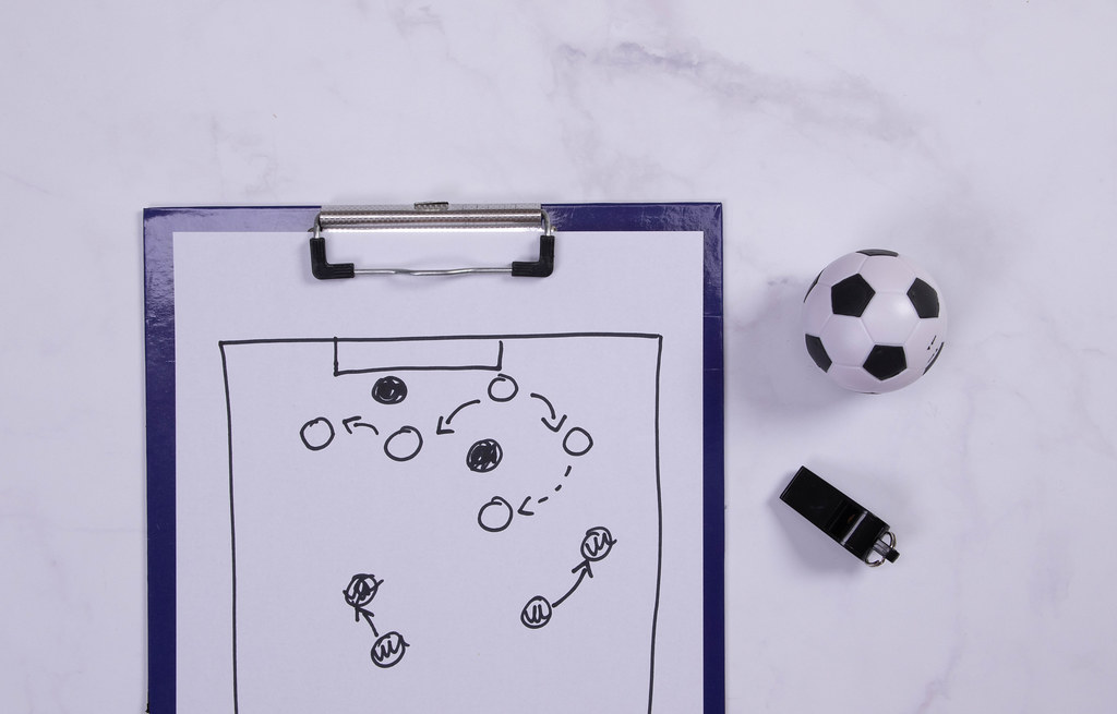 Football strategy planning board