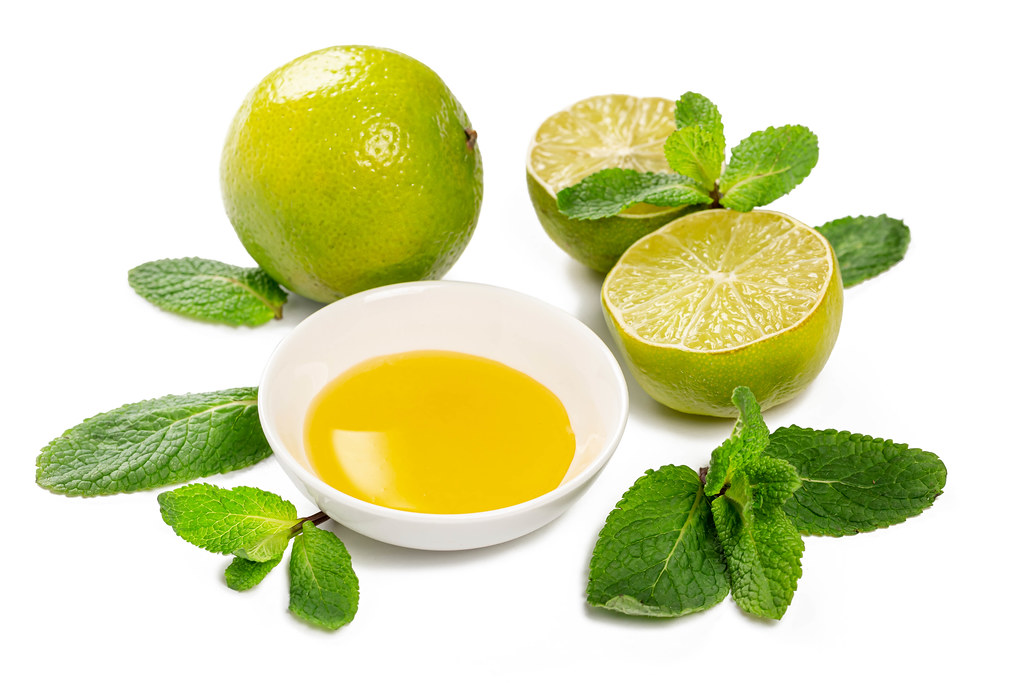 Fresh limes, mint and honey