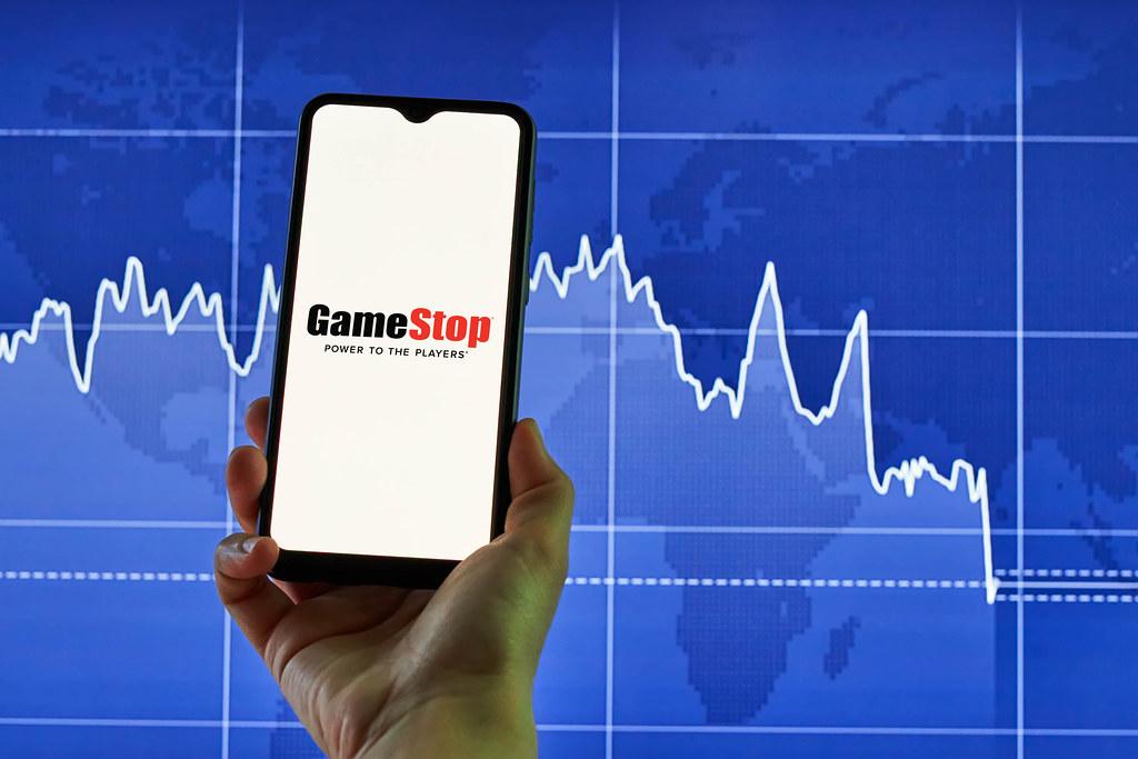 GameStop share price surges