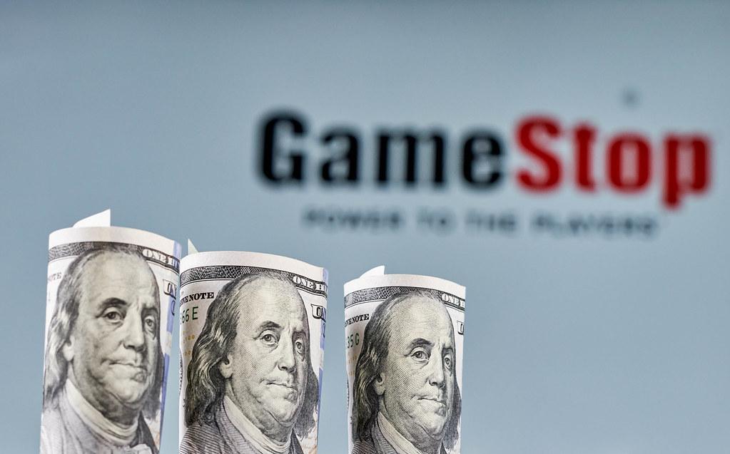 Gamestop stock is rising
