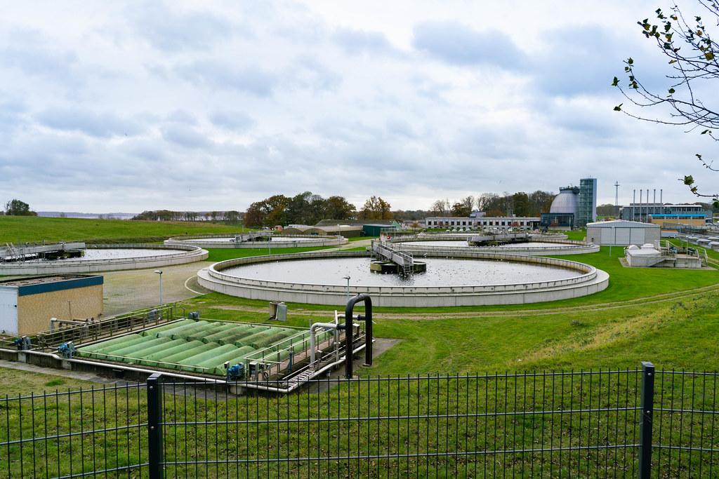 German water treating plant – Kläranlage Bülk