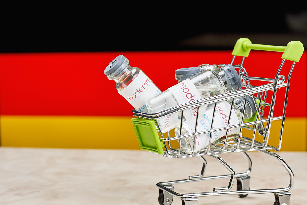 Germany buys Moderna vaccines against Covid-19