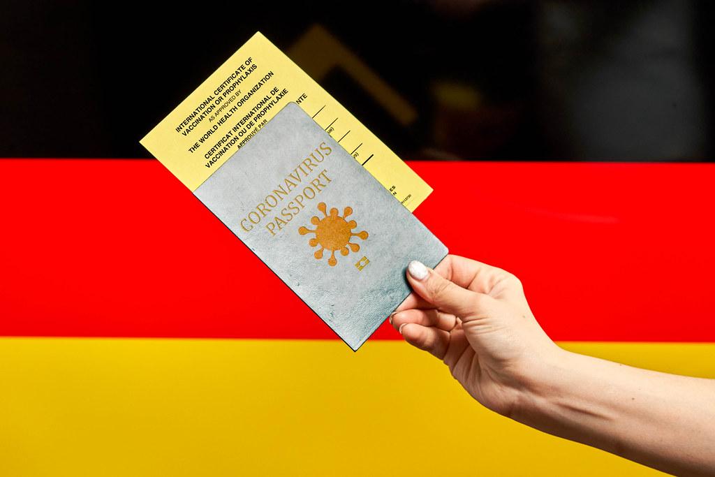 Germany government issues Coronavirus passport