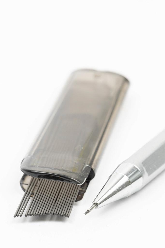 Graphite for school pencils closeup image