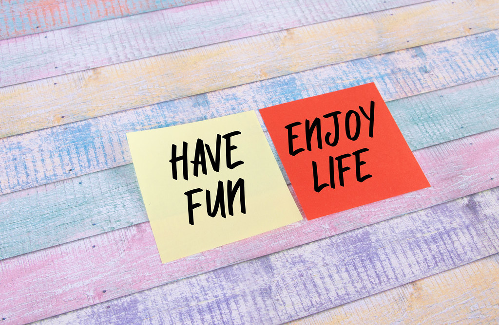 Have Fun, Enjoy Life- sticky notes set