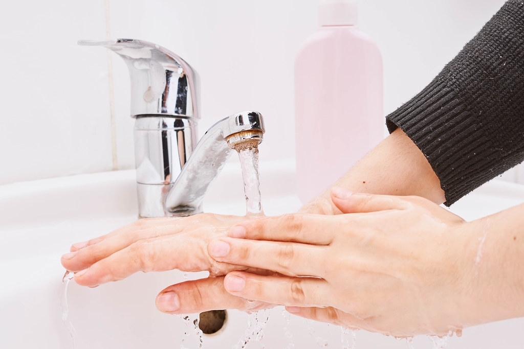 Hygiene, Cleaning Hands, Washing hands with soap