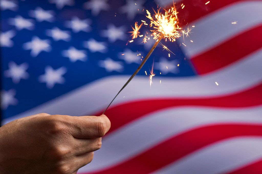 Independence Day - national holiday celebrated on the Fourth of July
