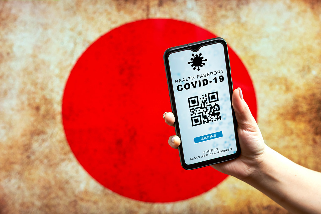Japanese authorities announced a digital health passport