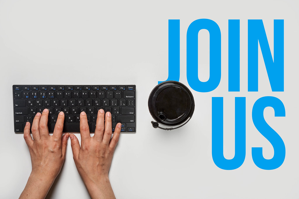 Join us - HR recruiter searching workers online