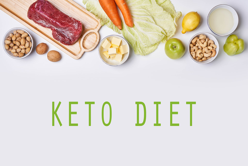 Keto diet - Healthy food for balanced diet and weight loss