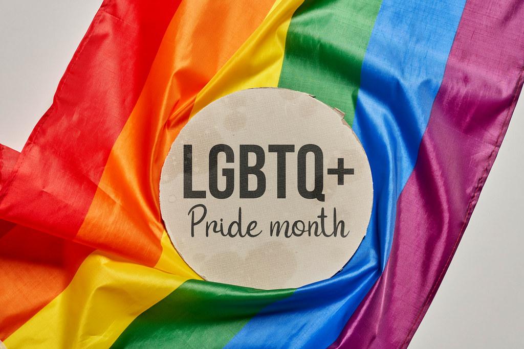LGBTQ+ Pride month concept