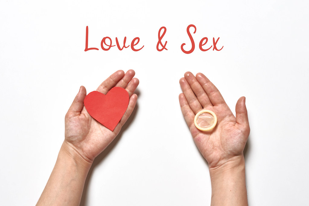 Love and sex concept