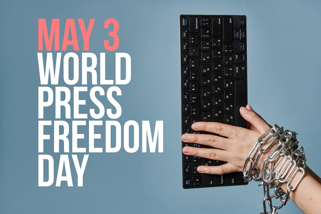 May 3 - World press freedom day