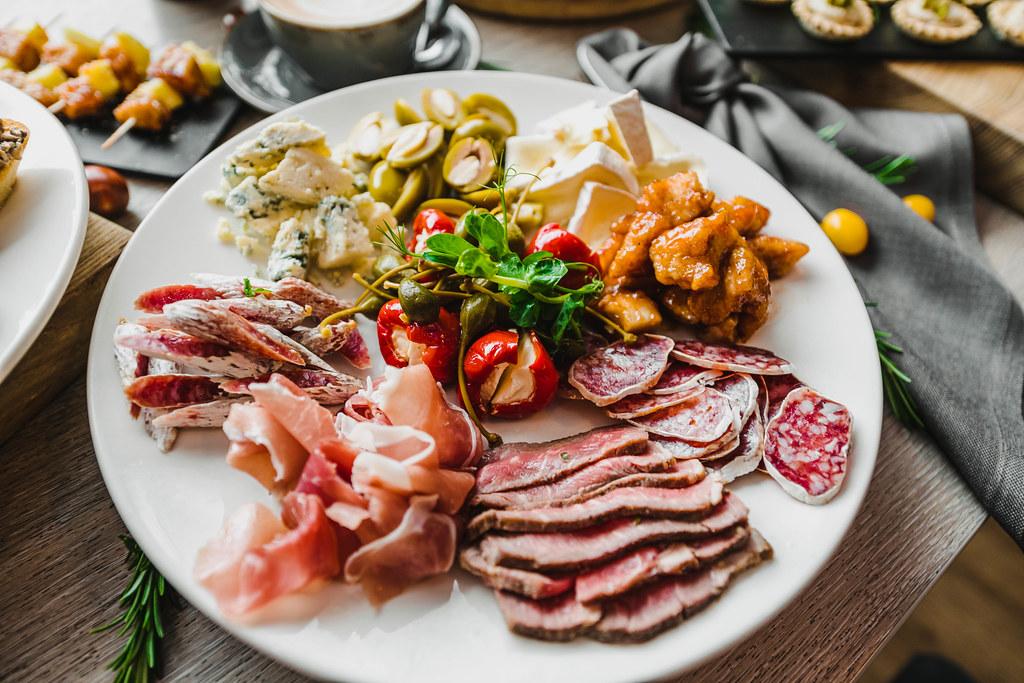 Mediterranean Antipast Asorti With Meat