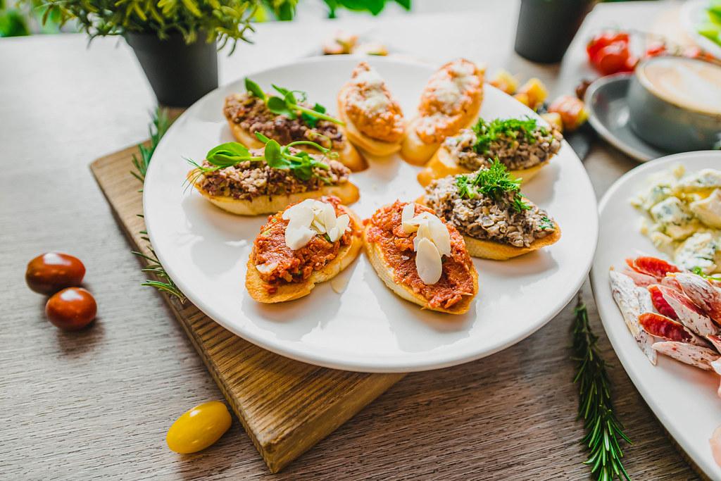 Mediterranean Antipast Asorti With Pesto
