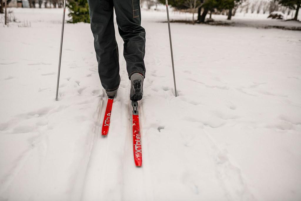 Men Skiing On Track In Countryside.jpg