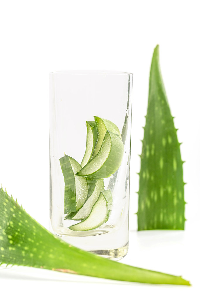 Natural medicinal plant aloe, the concept of cosmetology and care