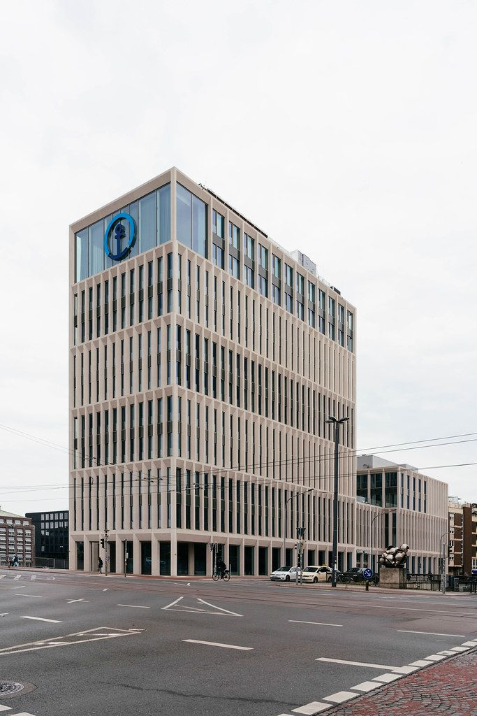Office building of Kühne + Nagel in Bremen, Germany