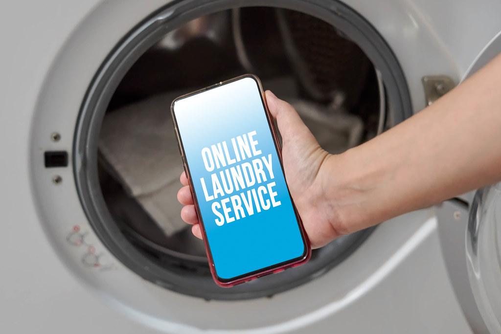 Online laundry service