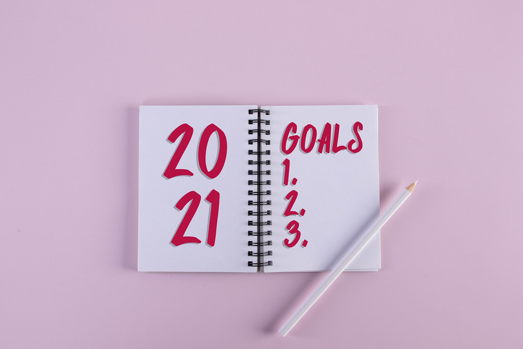 Open notebook 2021 Goals text