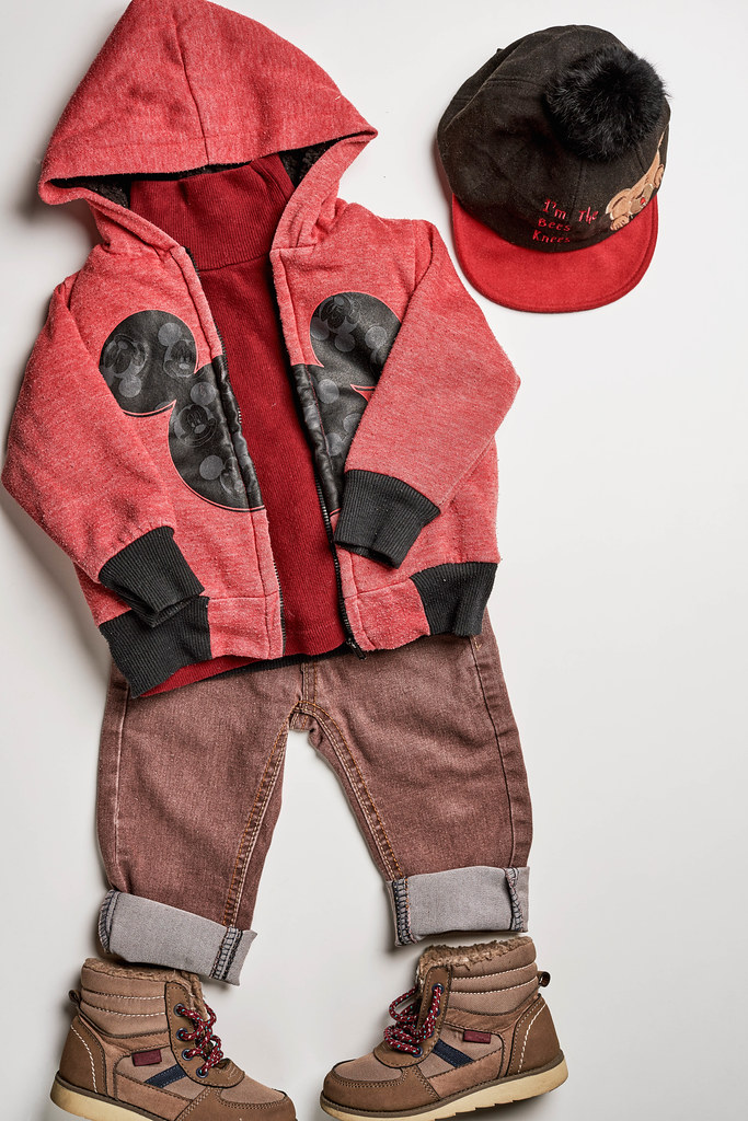 Outfit for little boy. Spring collection